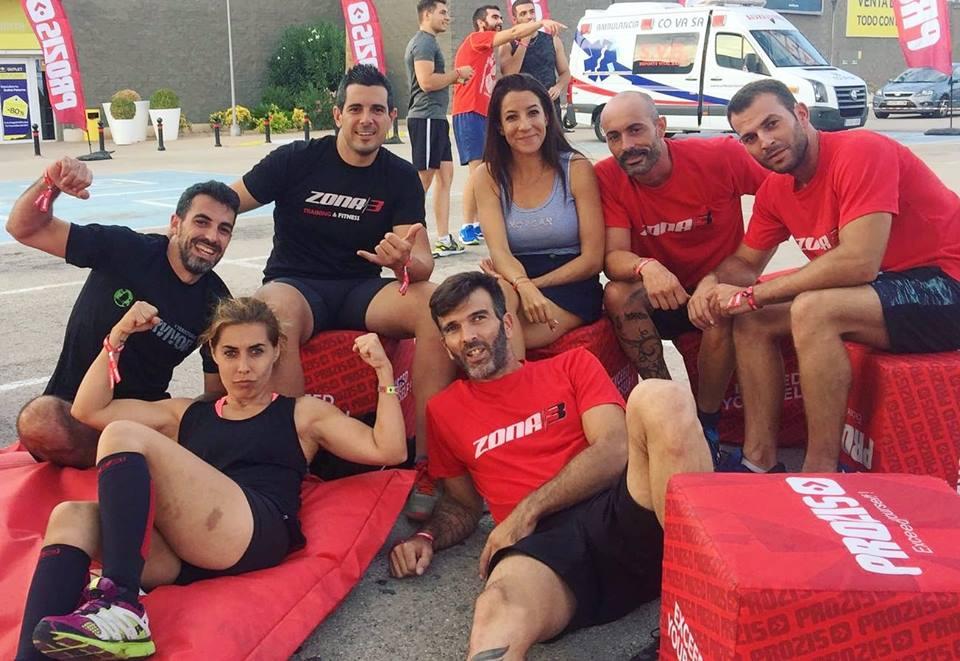 Parte de nuestro equipo OCR participando enProzischallenge enCarrefour