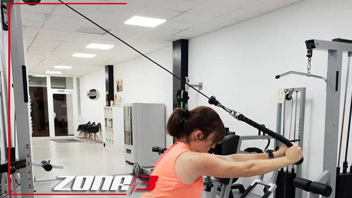 Trabajar los #triceps en polea