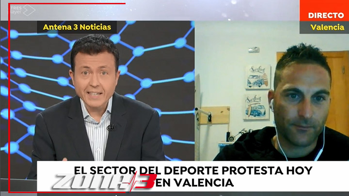 Entrevista en el matinal de Antena 3 hablando de nuestra injusta situación