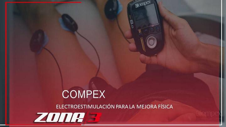 COMPEX es la mejor solución para mejorar el rendimiento deportivo y el bienestar