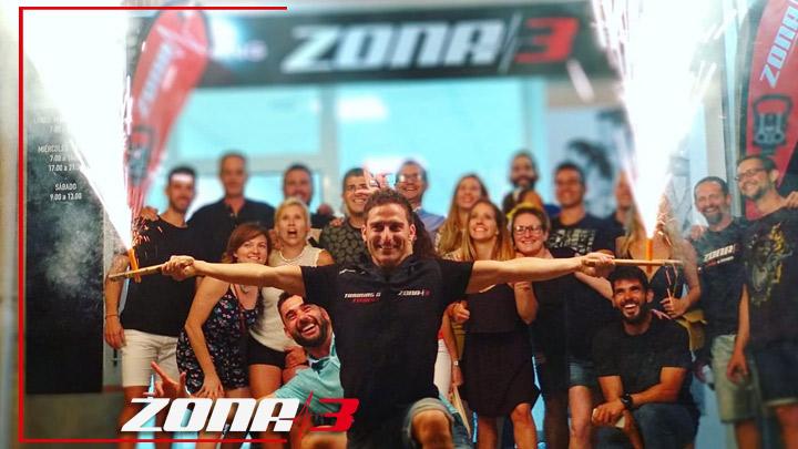 Hemos cumplido 3 años de la apertura del nuevo centro Zona3 fitness