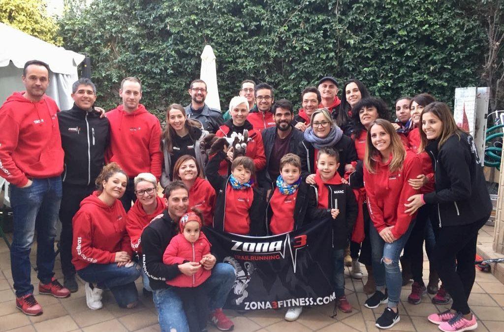 Celebramos la comida y entrega de los trofeos de la Copa Zona3